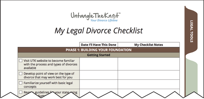 Legal divorce tools untangletheknot imagine if you had all these answers and could stand tall and confident throughout your divorce solutioingenieria Choice Image